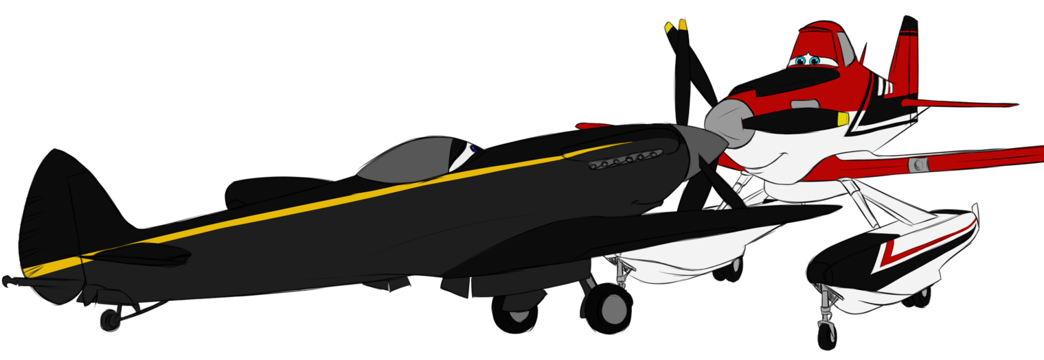 Clipart airplane shadow. Nuzzles by carlisle on