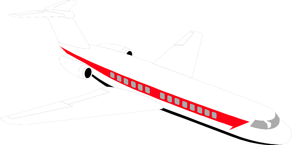 Airplane free stock photo. Jet clipart air transportation