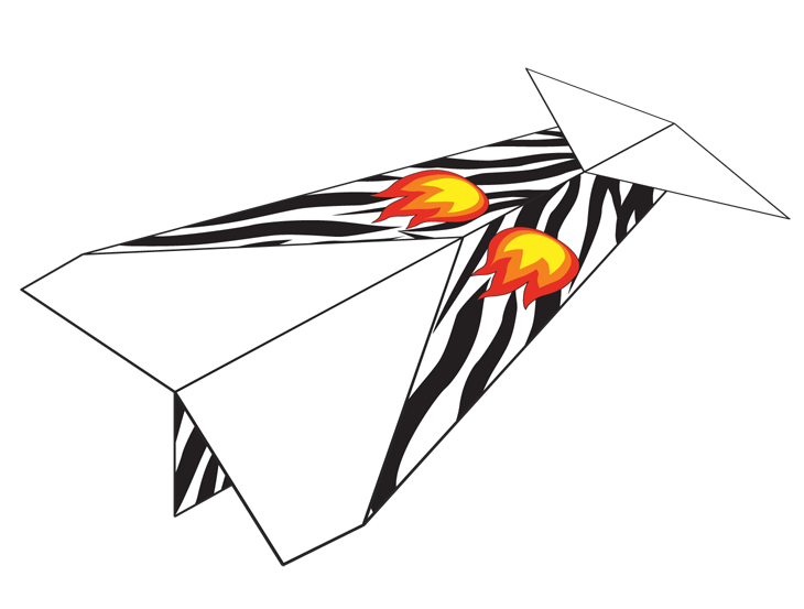Flames clipart paper. Plane number how things