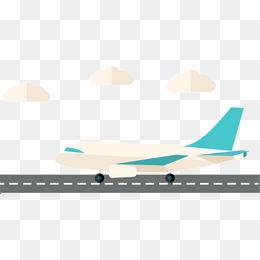 Clipart airplane track. Aircraft runway cartoo png
