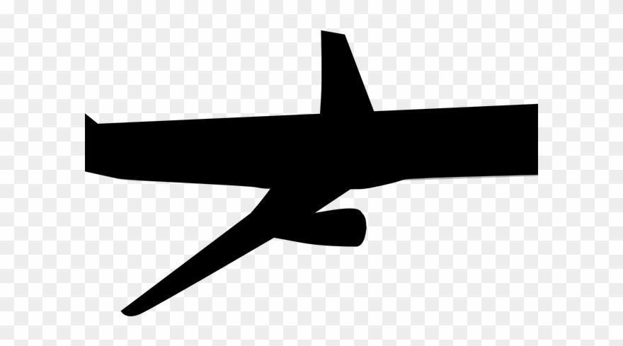 Plane aeroplane image black. Clipart airplane track