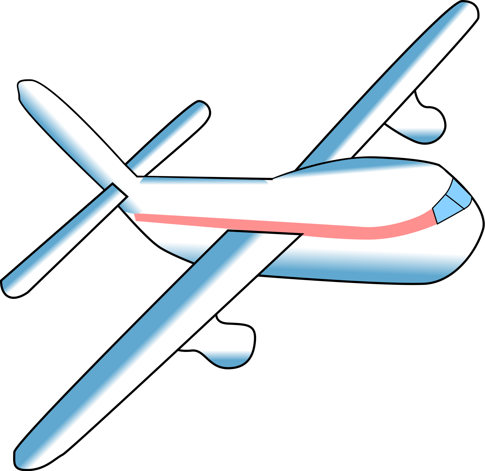 Wing clipart flight attendant. File airplane svg wikimedia