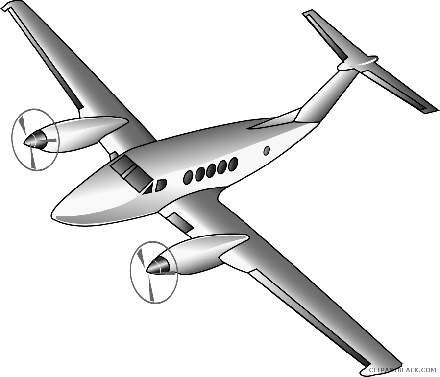 Free black white images. Transportation clipart airplane
