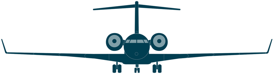 Clipart plane voyage. Global bombardier business aircraft