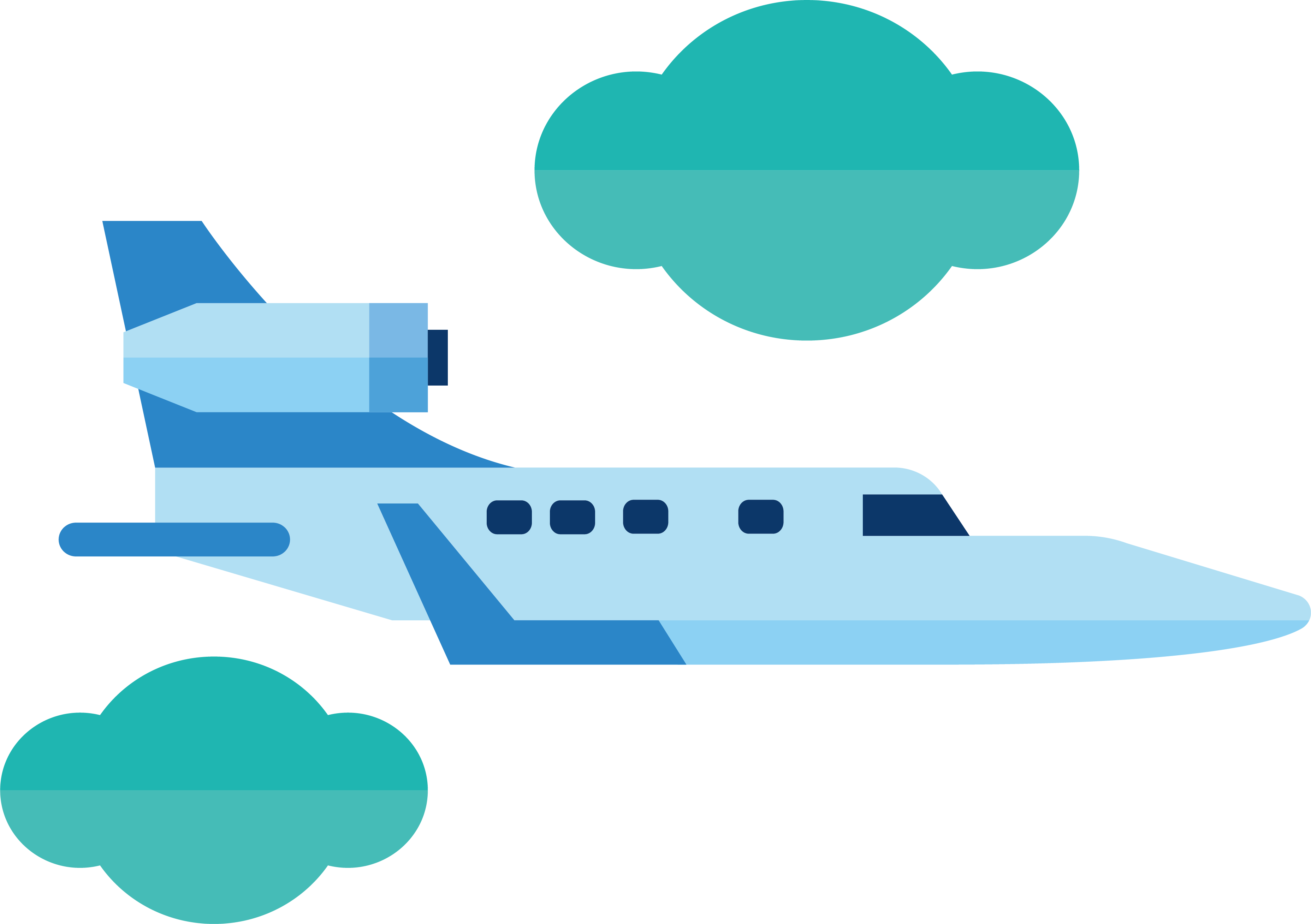 Clouds clipart airplane. Aircraft clip art in