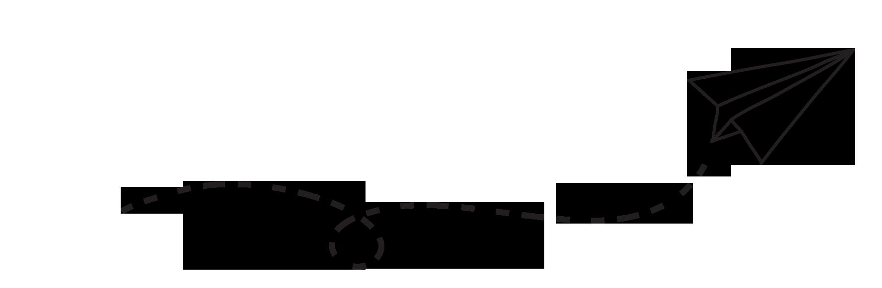 White planplane png image. Clipart paper line paper