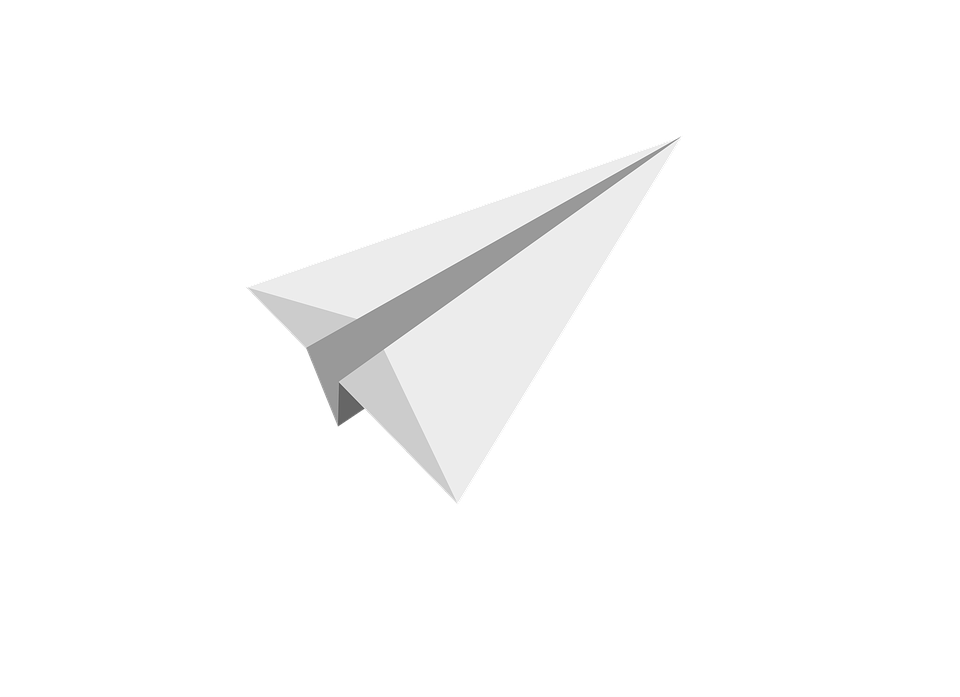 Paper clipart jet. White plane png image