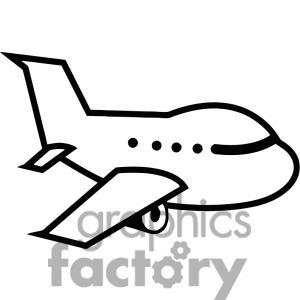 Clipart plane. Cartoon airplane panda free