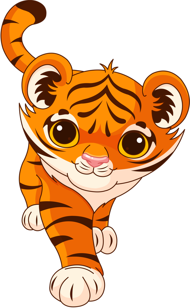 png pinterest clip. Clipart walking tiger