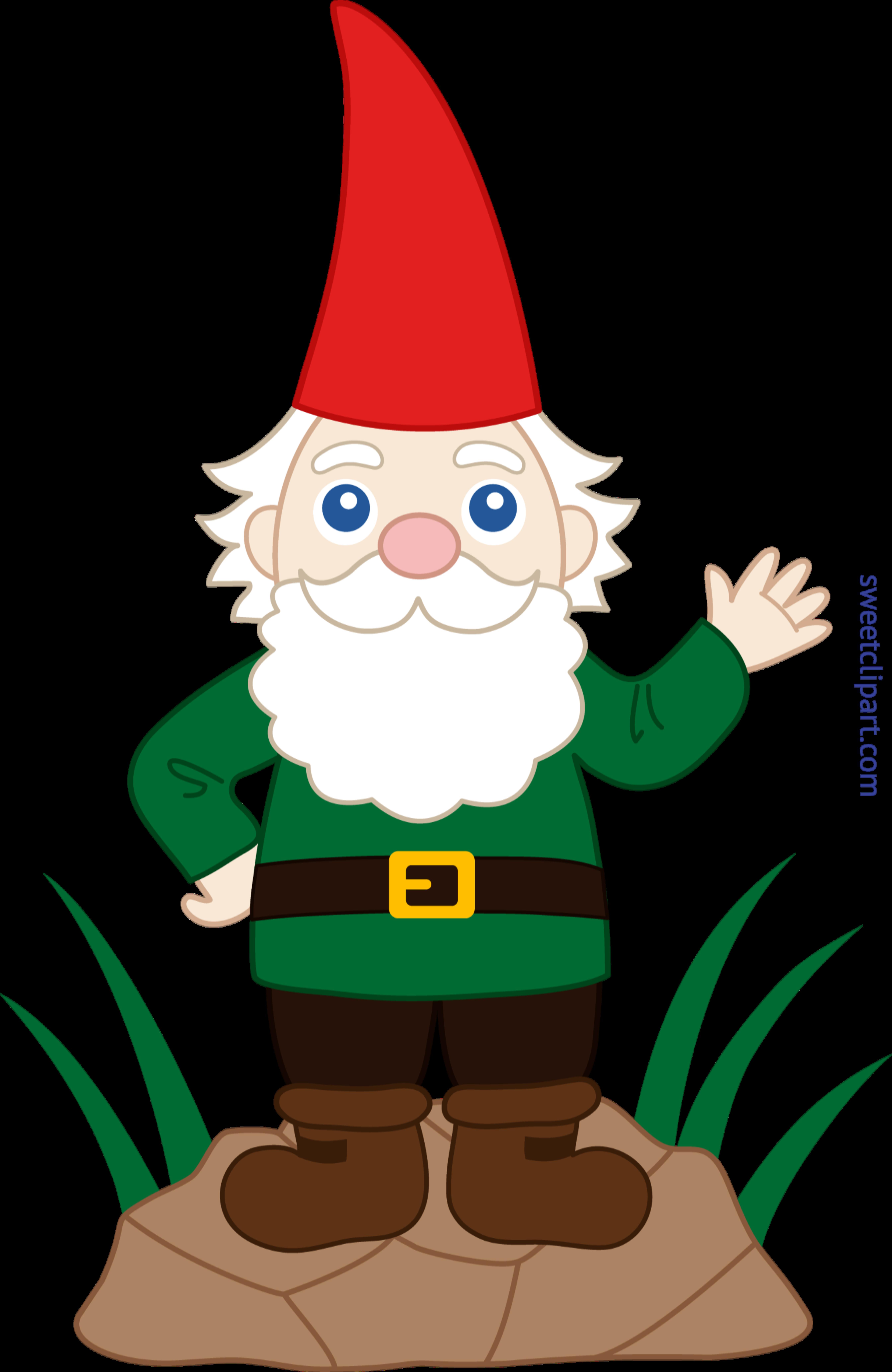 Gnome clip art sweet. Clipart music garden