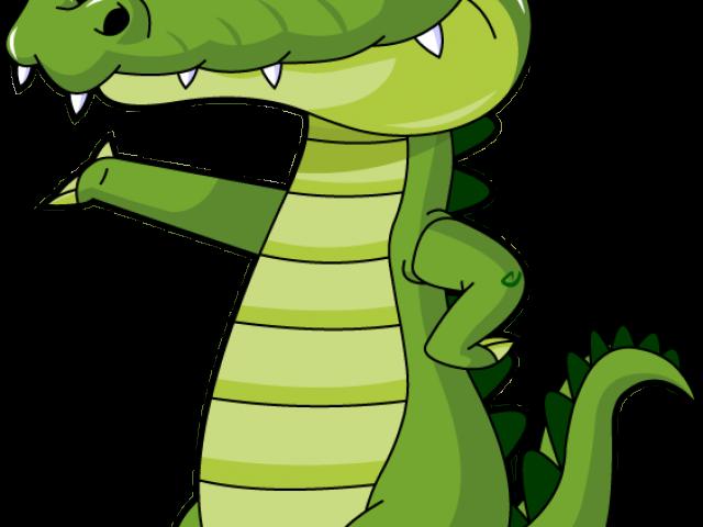 Gator clipart silhouette. Cartoon alligator free download