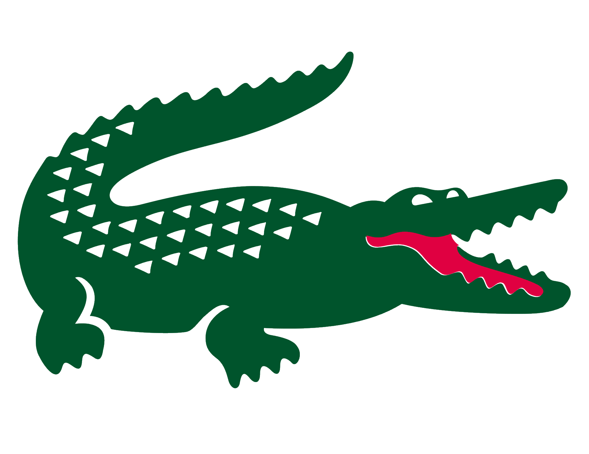 Logos . Crocodile clipart green object