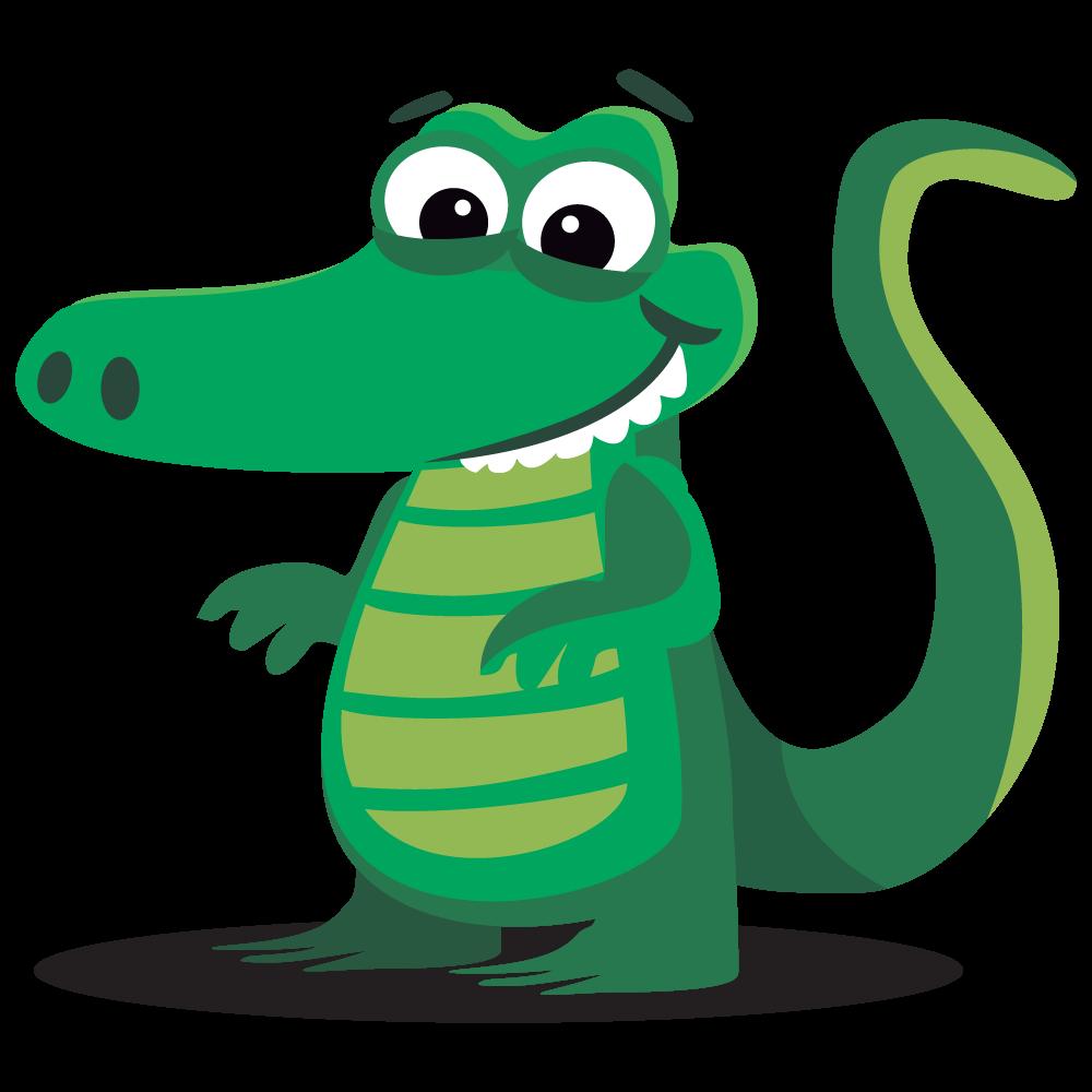 Crocodile clipart bad. Alligator free images clipartwiz