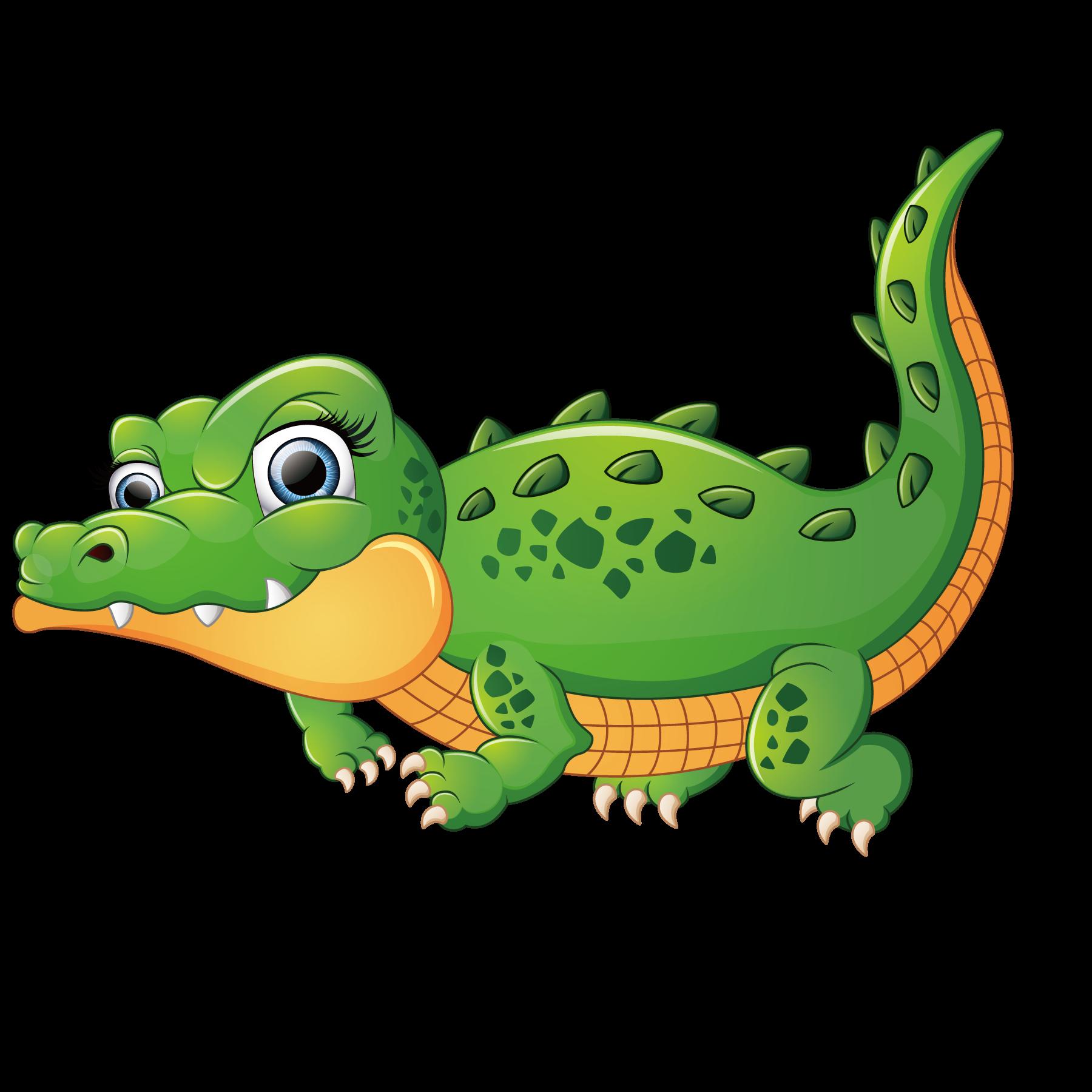 Pear clipart crocodile. Crocodiles alligator illustration cute