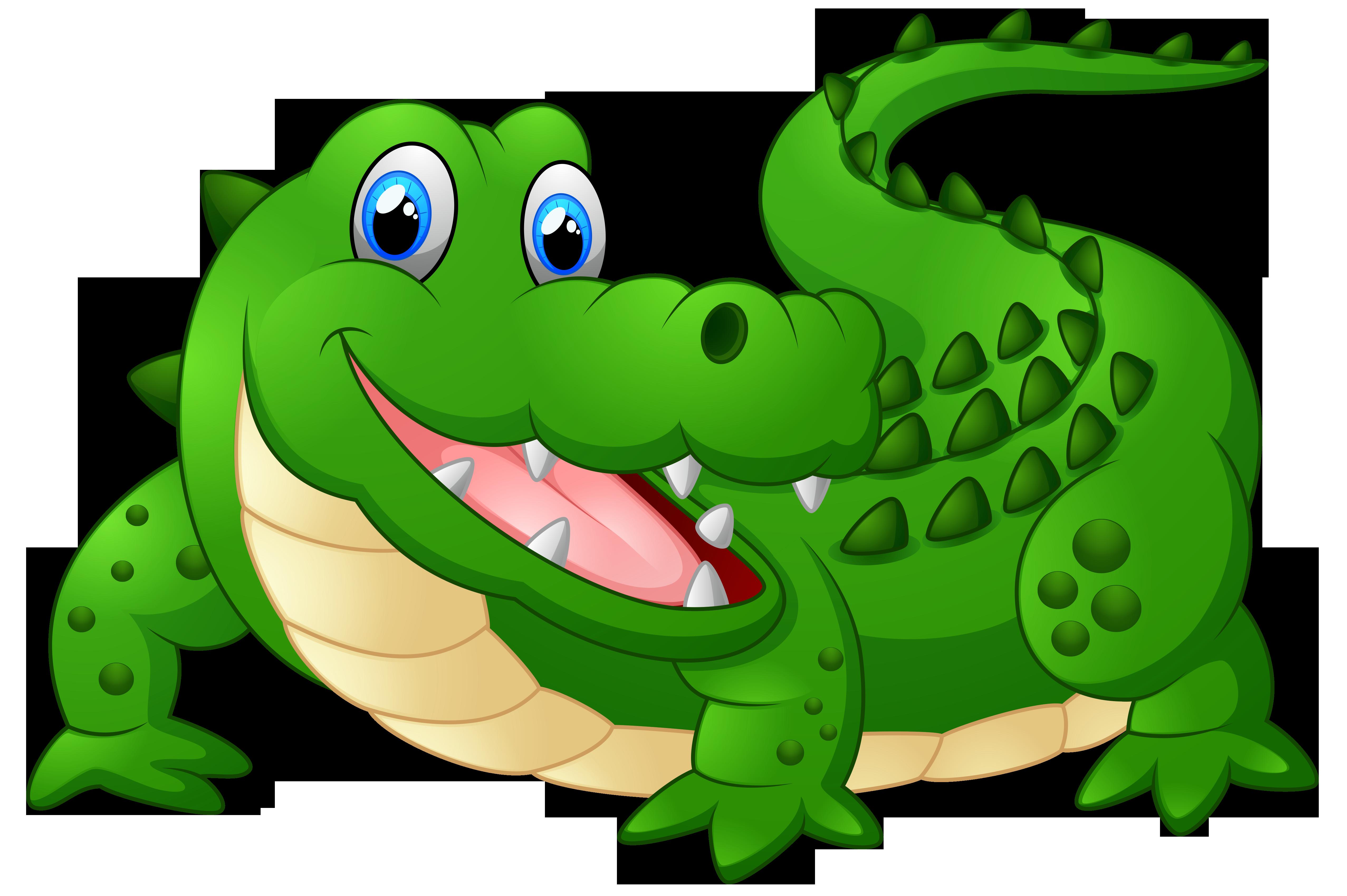 crocodile clipart angry alligator