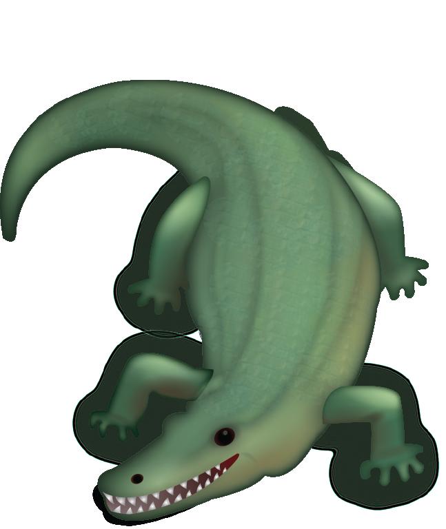 Lizard clipart emoji. Crocodile alligator domain transprent