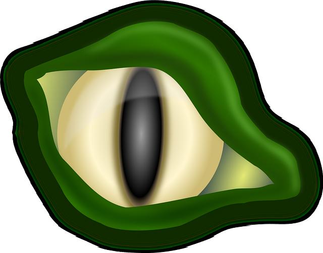 Eyes clipart alligator. Free image on pixabay