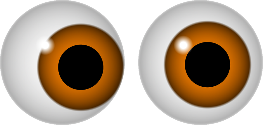 collection of eyes. See clipart transparent