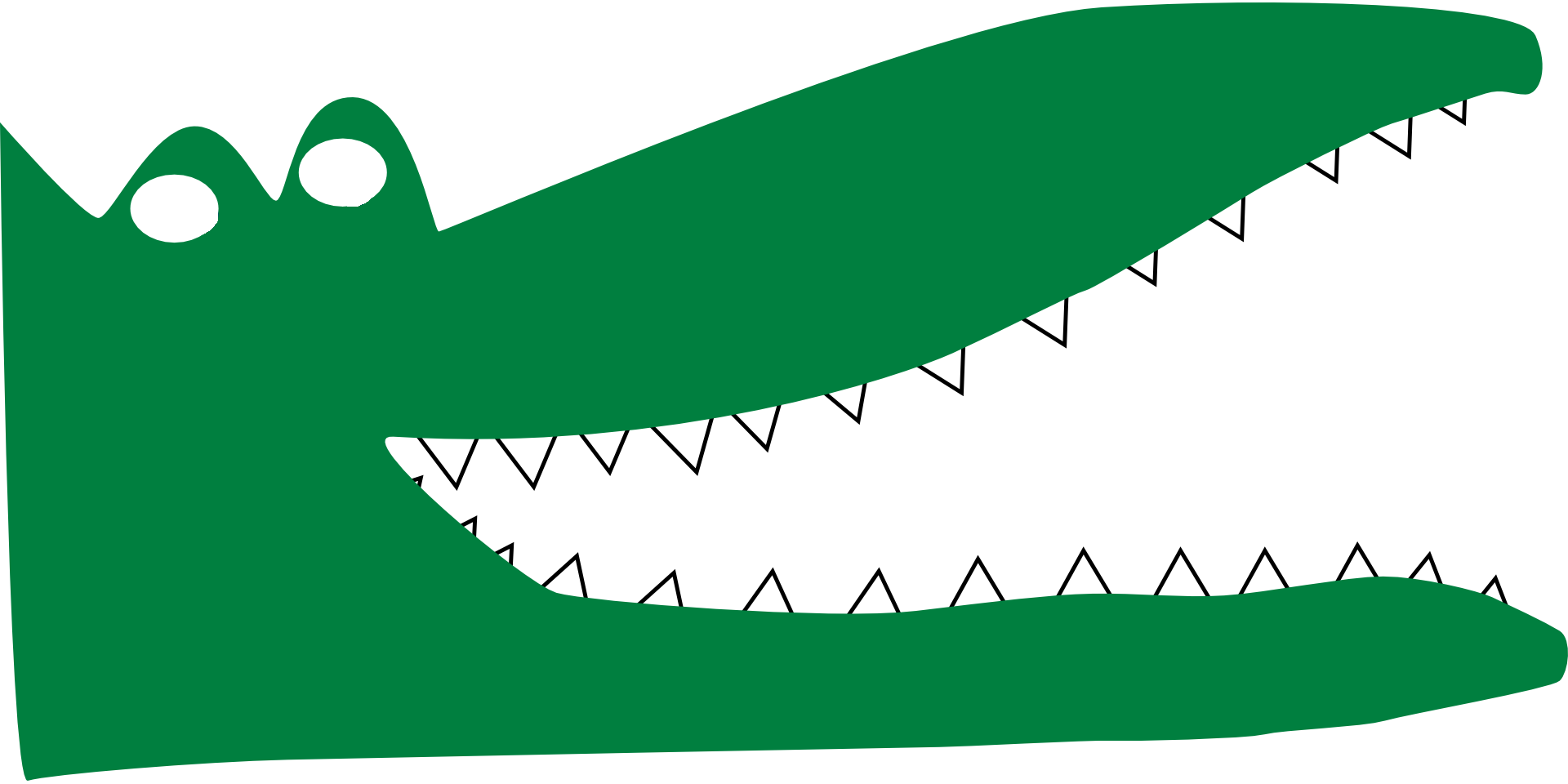 Frog clipart open mouth. Alligator
