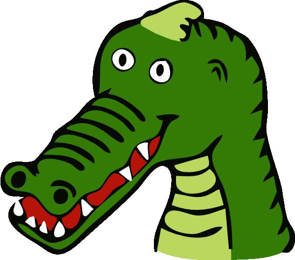 Clipart eye alligator. Cartoon crocodile clip art
