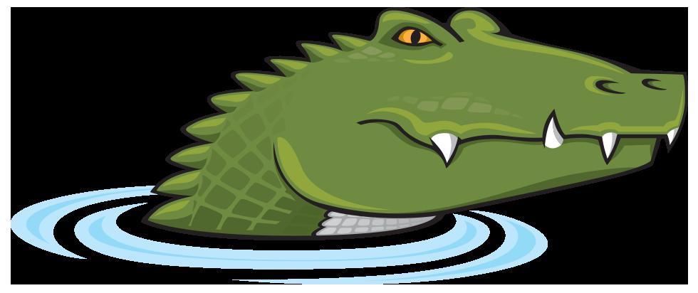 Alligator charlotte nc. Crocodile clipart editorial cartooning
