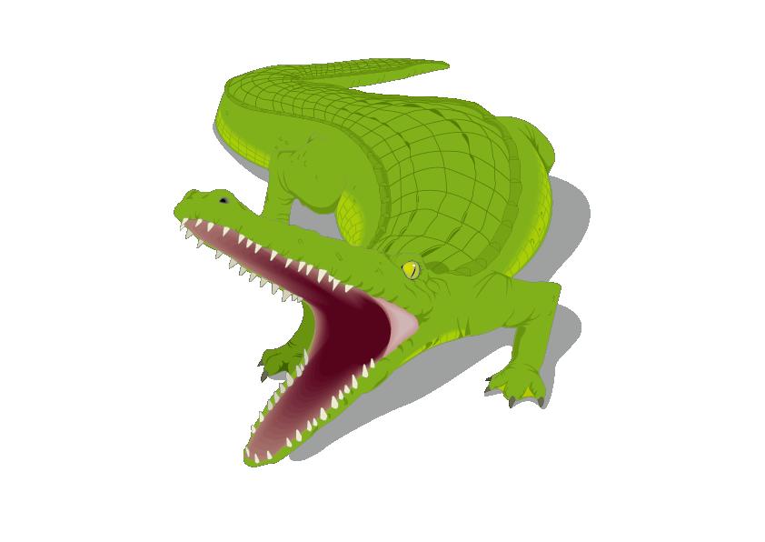 Honey Island Swamp Alligator Crocodile Clip art