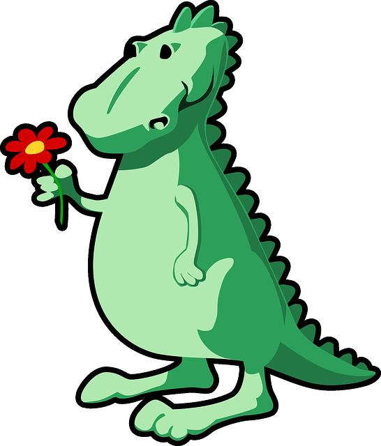 Crocodile clipart alligator mascot. Sweet dinosaur