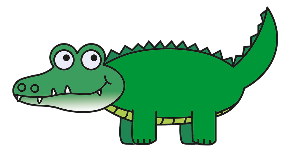 Crocodile clipart toon. For kids at getdrawings
