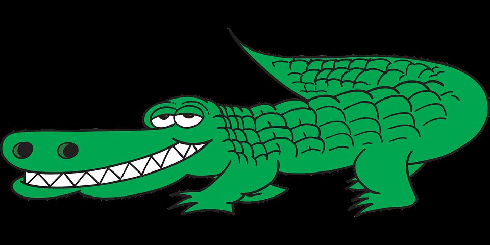crocodile clipart bad