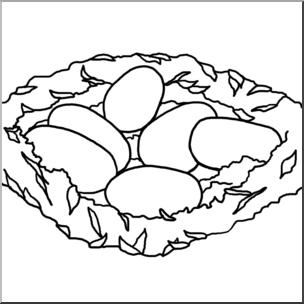 Nest clipart one egg clipart. Clip art alligator eggs