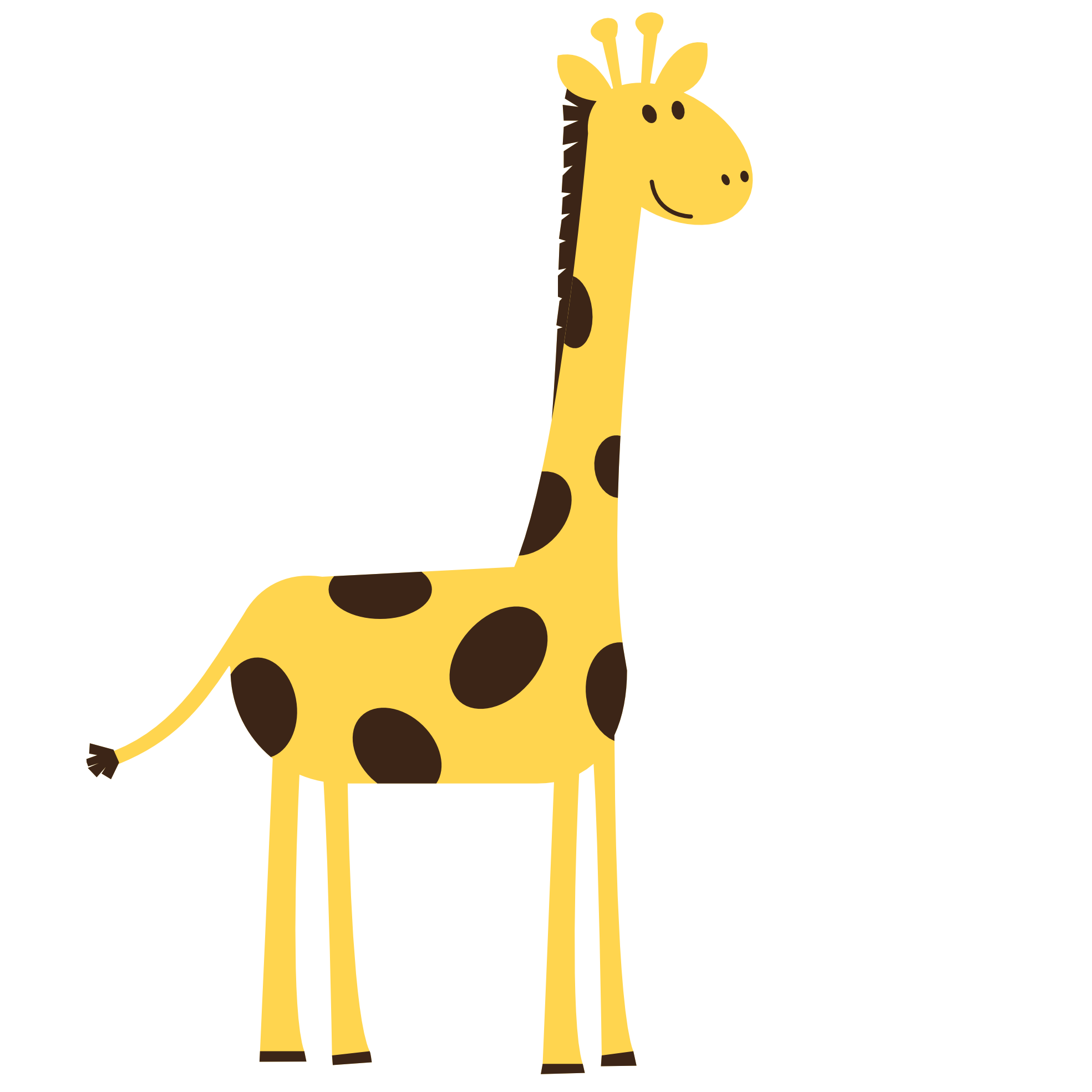 Clipart shapes comic. Vector giraffe soldiertank pinterest