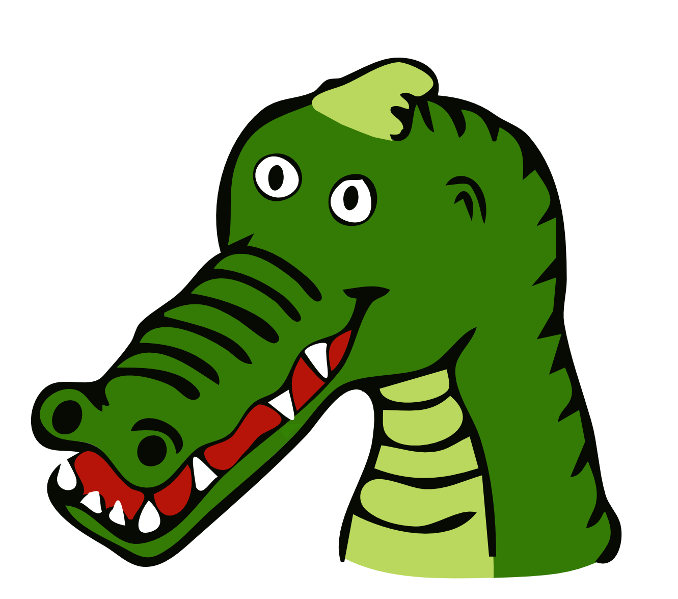 Mouth clipart alligator. Black and white images