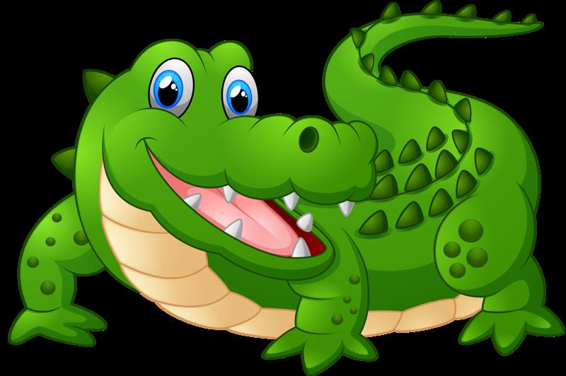 Face crocodile
