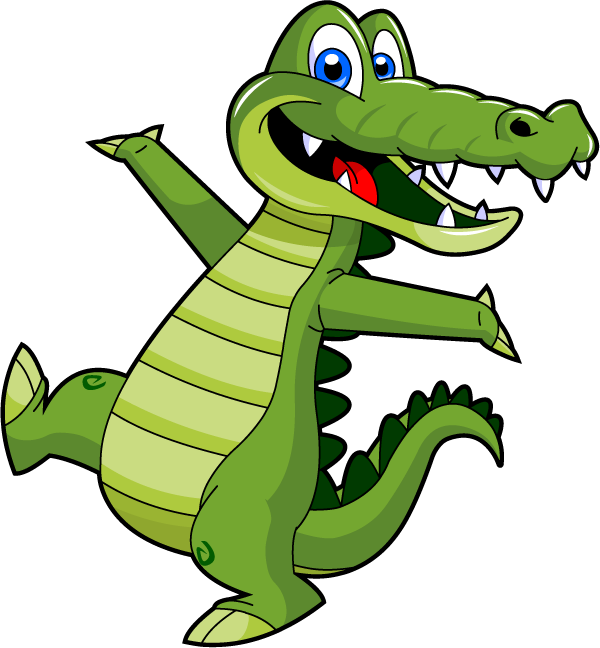 Pin by dog in. Gator clipart preppy alligator
