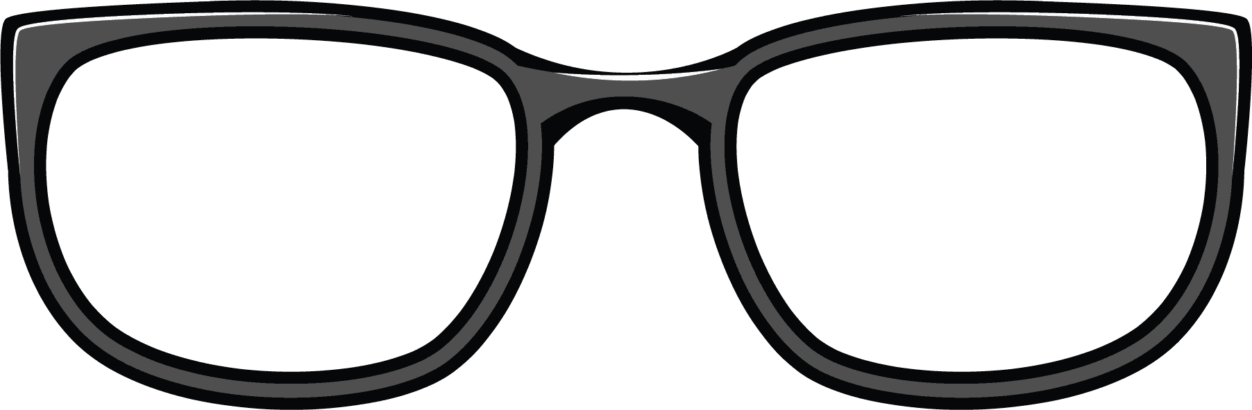 collection of glasses. Moustache clipart chasma