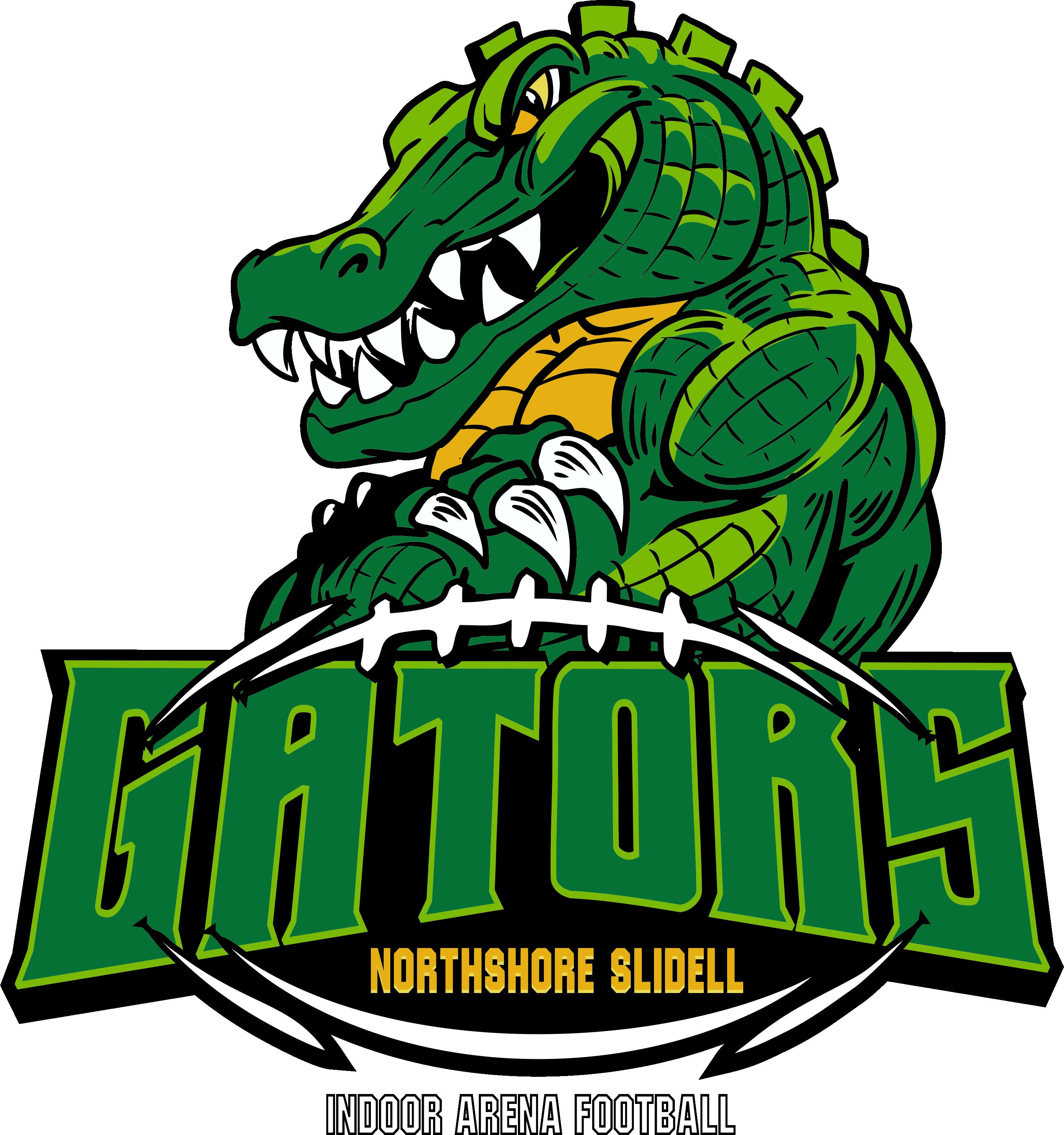 Northshore gators logo december. Gator clipart american alligator