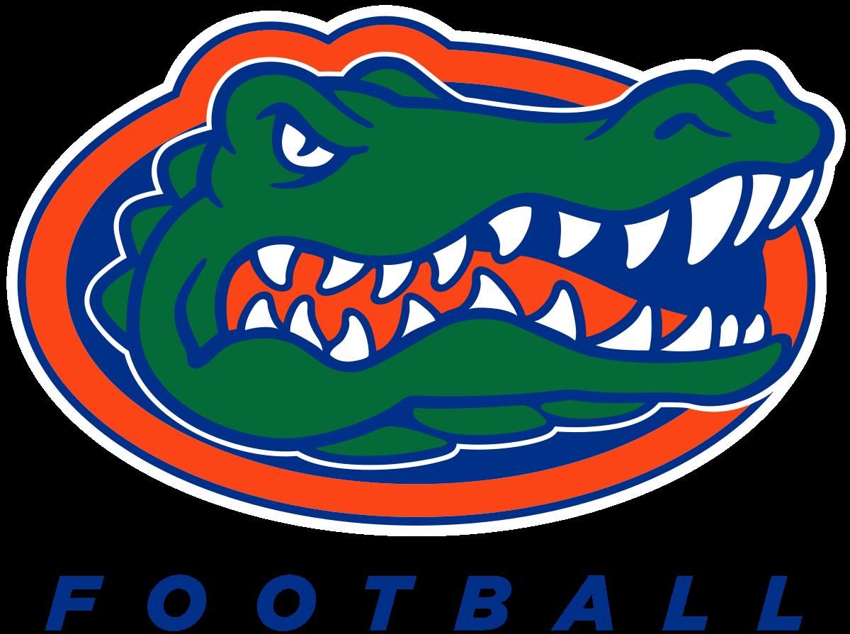 Foot clipart alligator. Florida gators football wikipedia