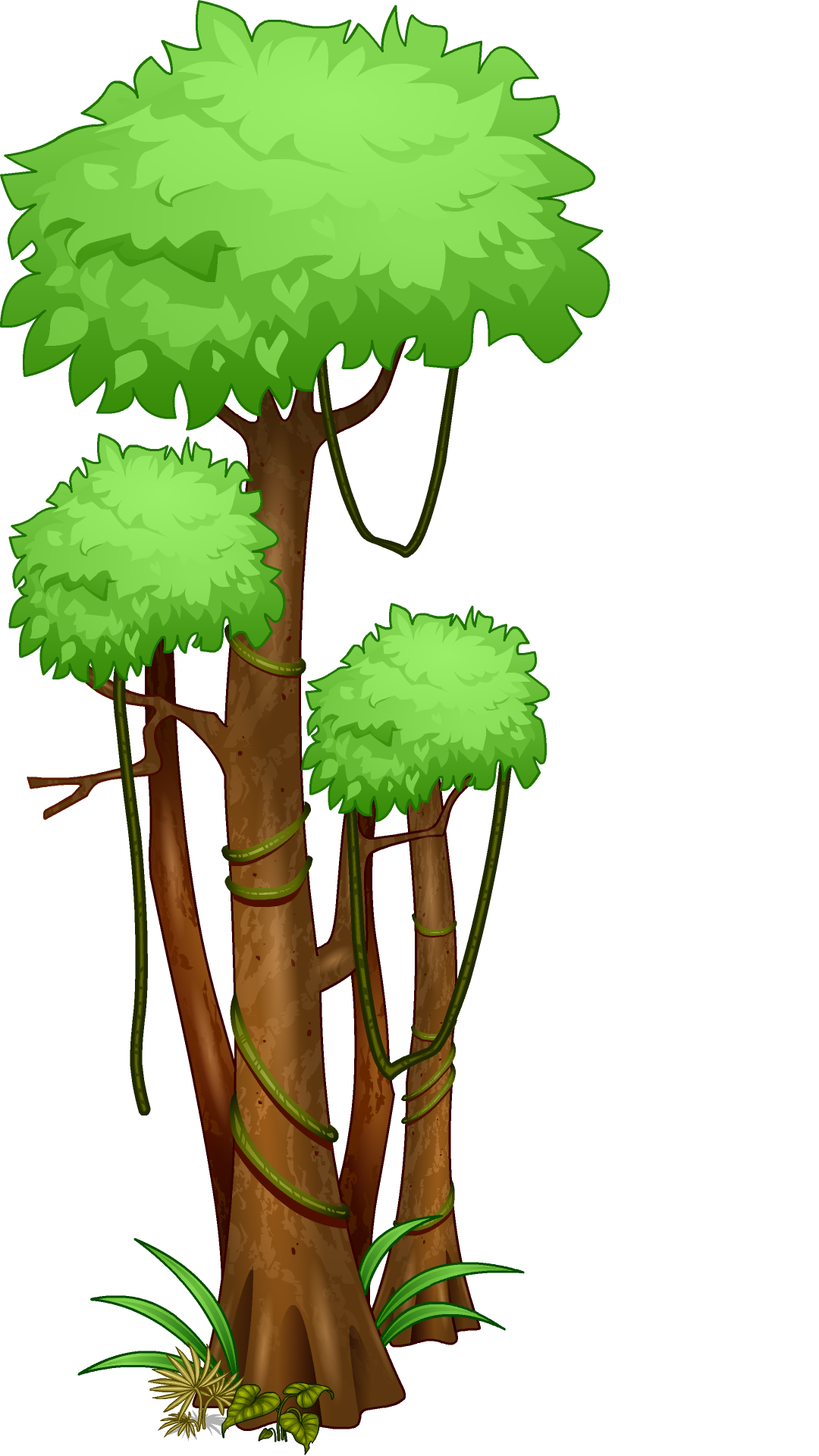 Tree clipart forest. Trees black and white