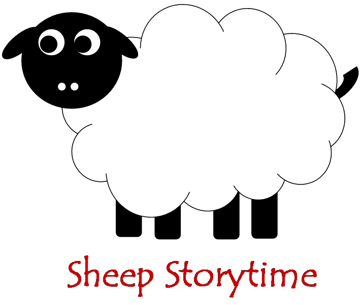 Clipart sleeping sheep. Storytimes narrating tales of