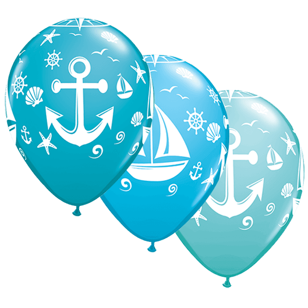 x nautical sailboat. Clipart anchor aqua
