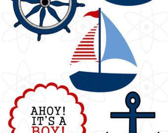 Nautical clipart nautical baby shower. Cliparthut free