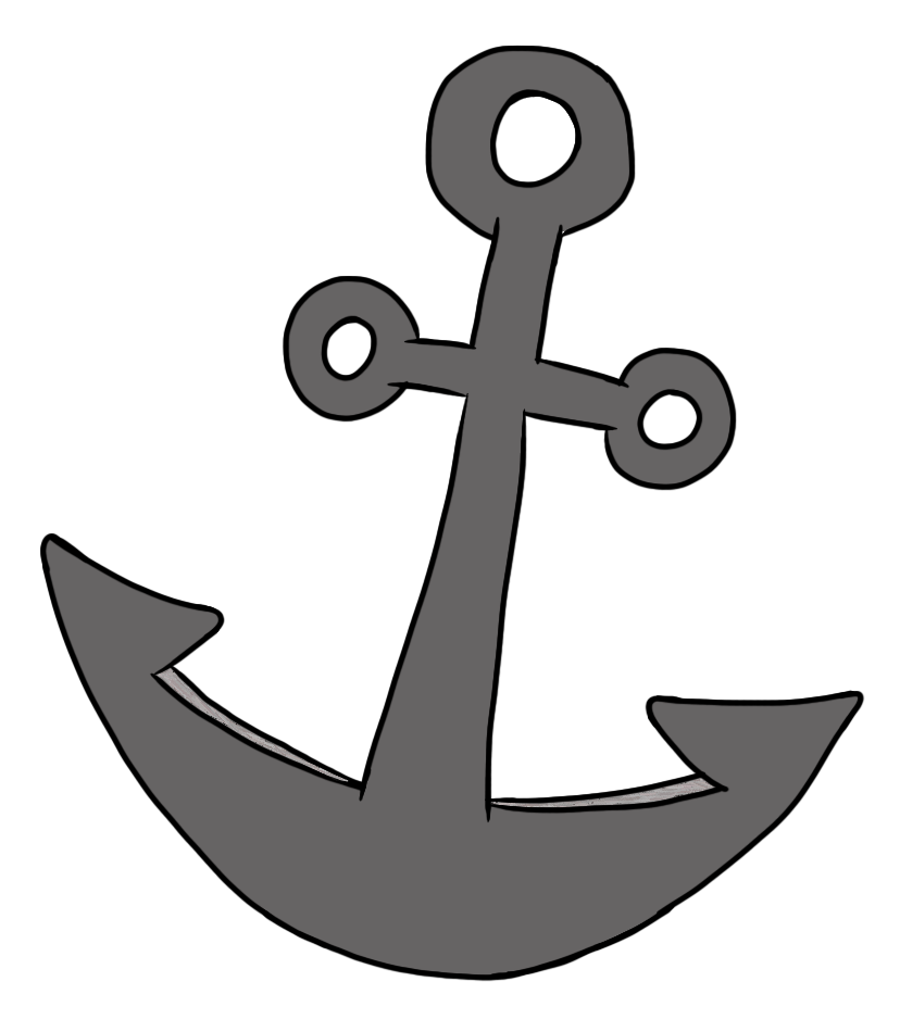Simple pirate theme pinterest. Clipart free anchor