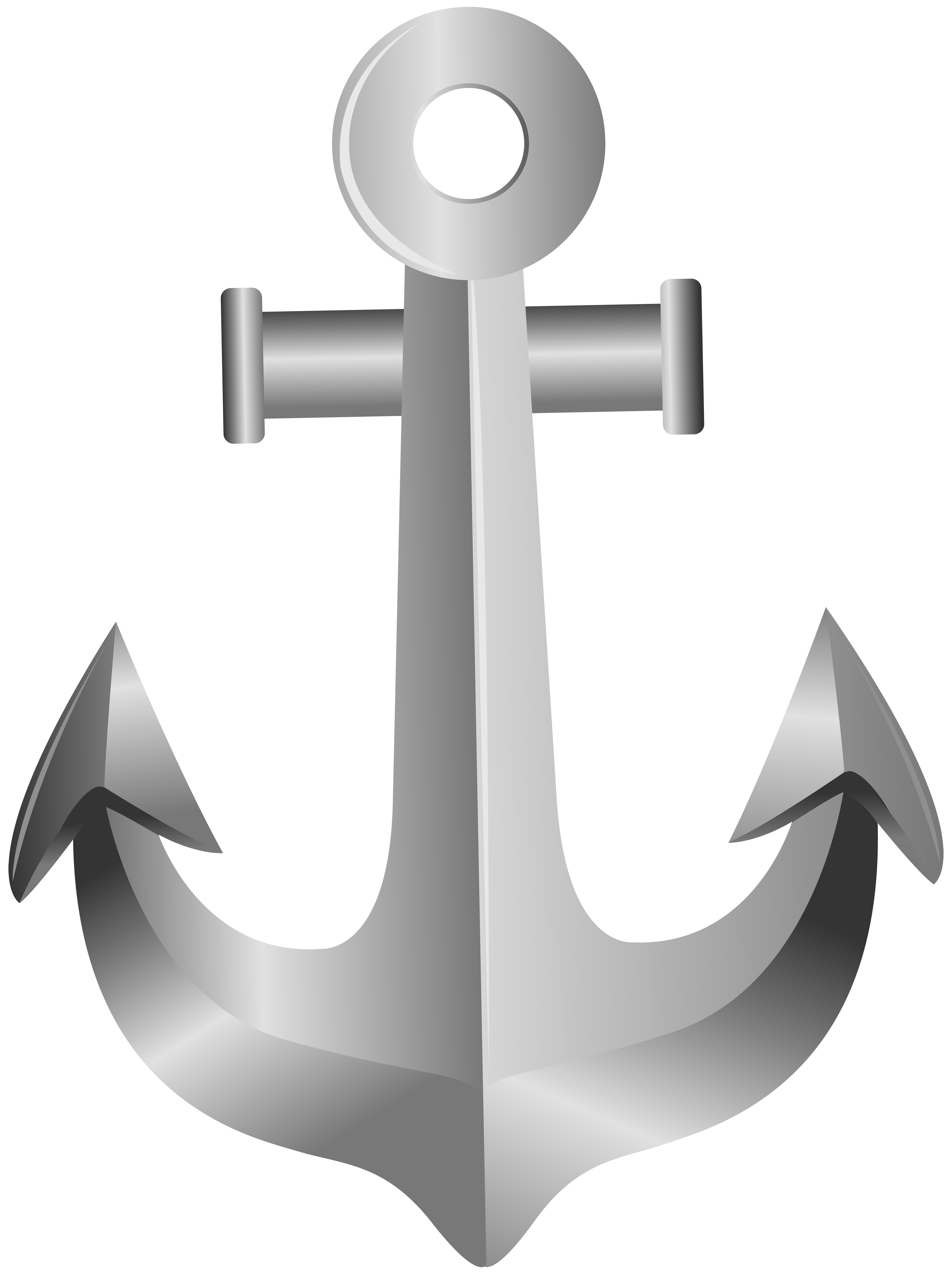 Silver png clip art. Clipart anchor birthday
