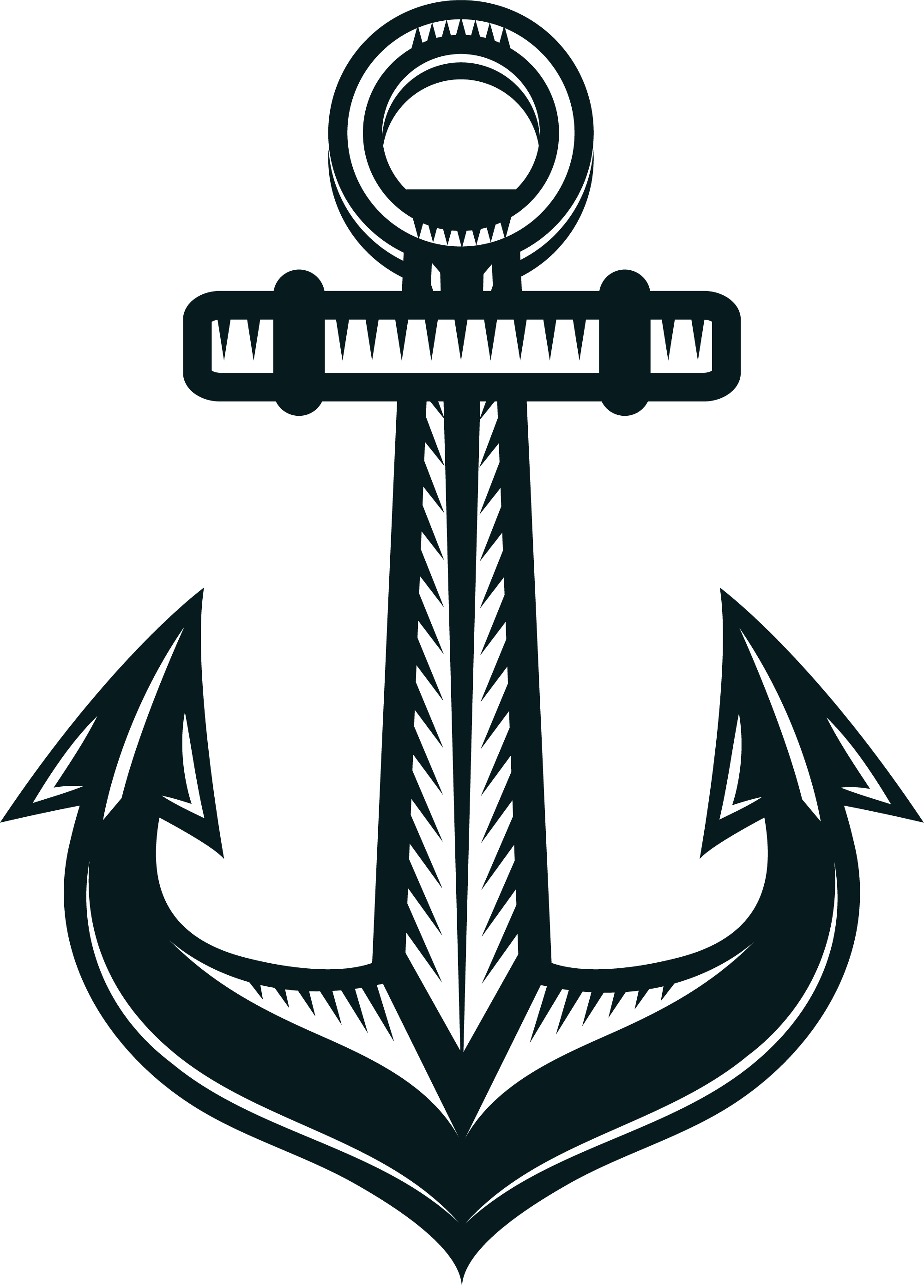 Clipart anchor black and white. Ship watercraft clip art