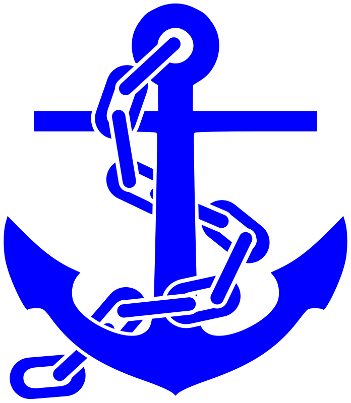Ocracoke island journal the. Clipart anchor blue anchor
