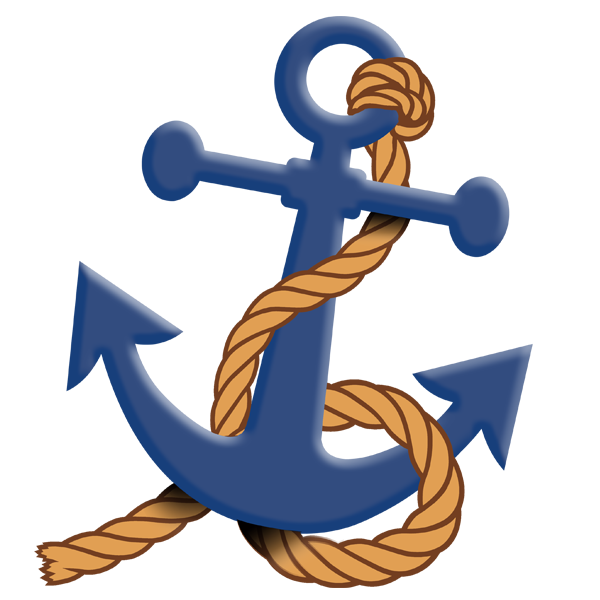 Clipart anchor blue anchor. Leisure blueanchorlei twitter
