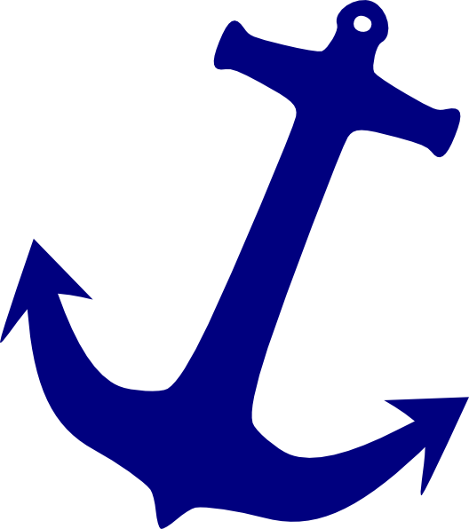 Clip art at clker. Clipart anchor blue anchor