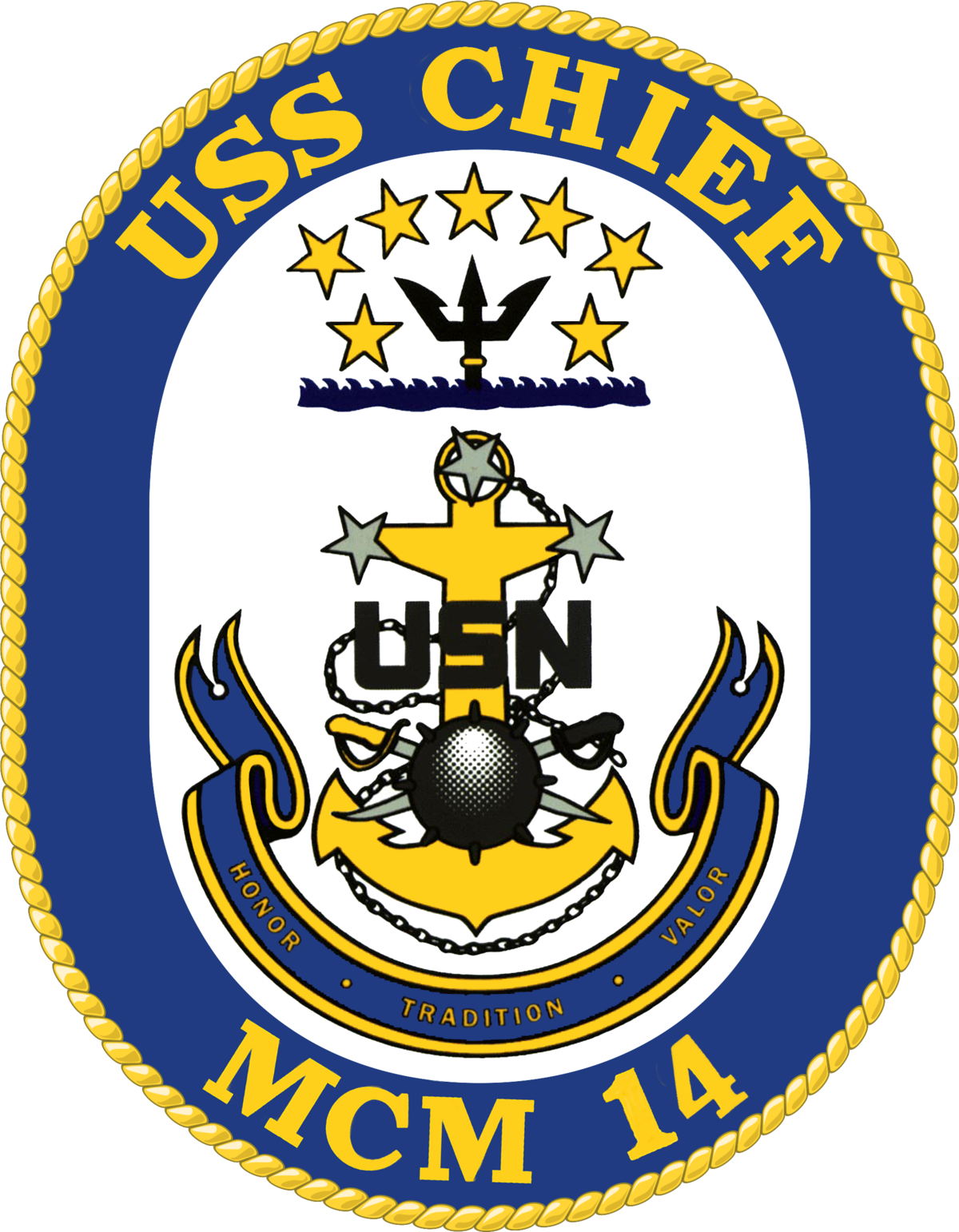 Uss mcm wikipedia . Clipart anchor chief navy