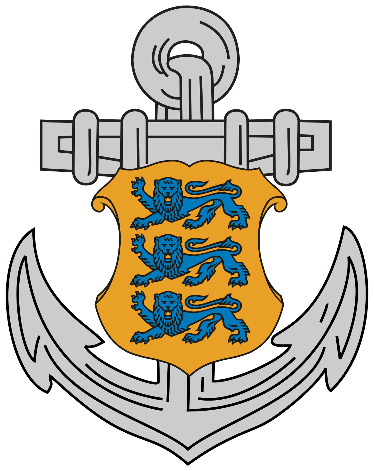 Estonian wikipedia . Clipart anchor chief navy
