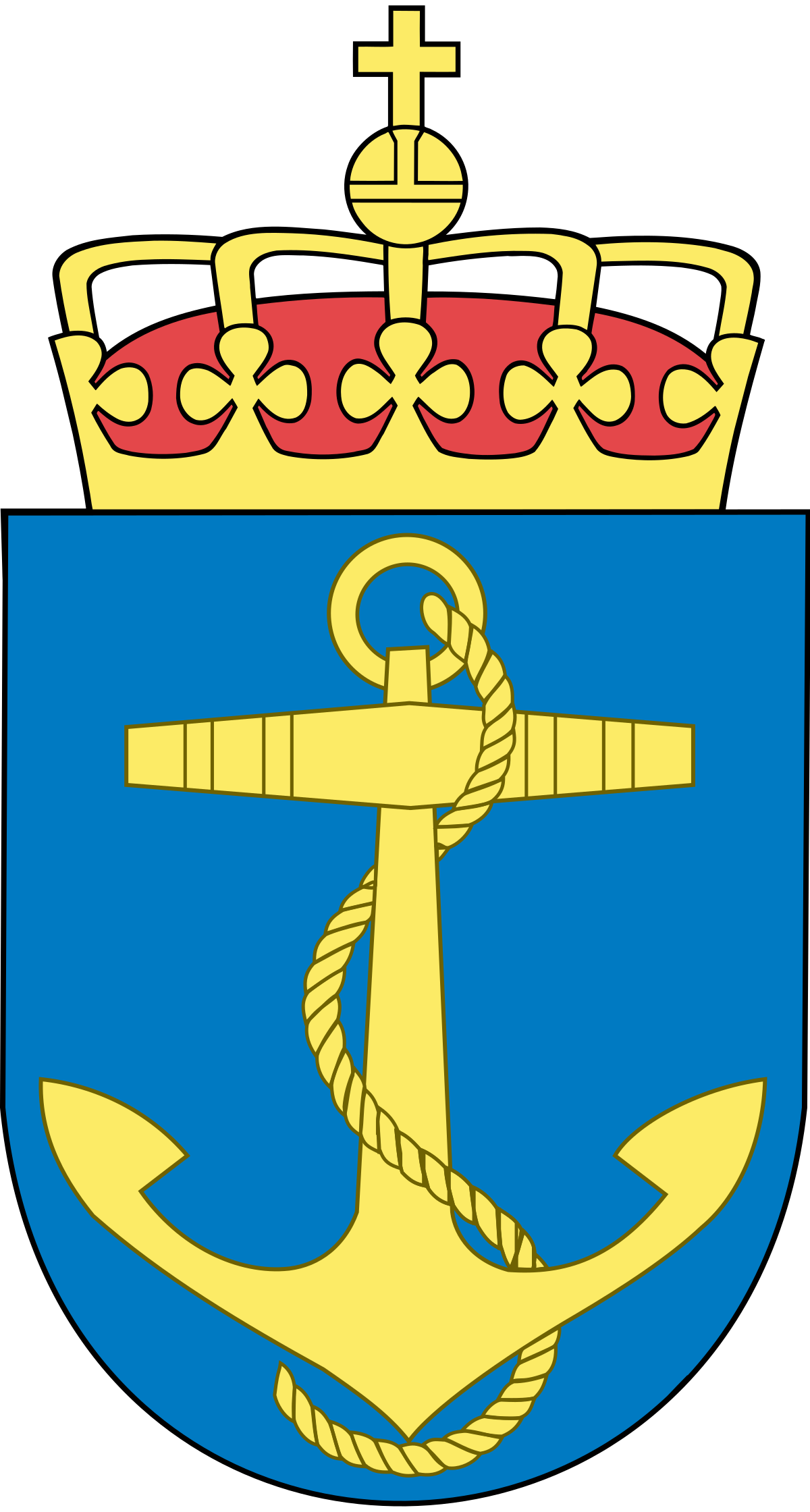 Royal norwegian wikipedia . Clipart anchor chief navy